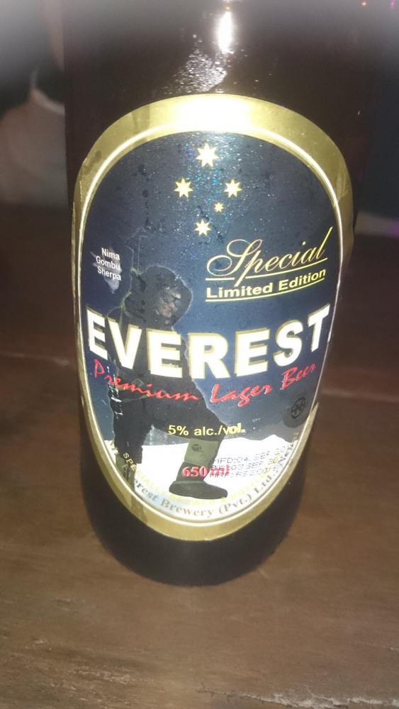 everest beer in Nepal