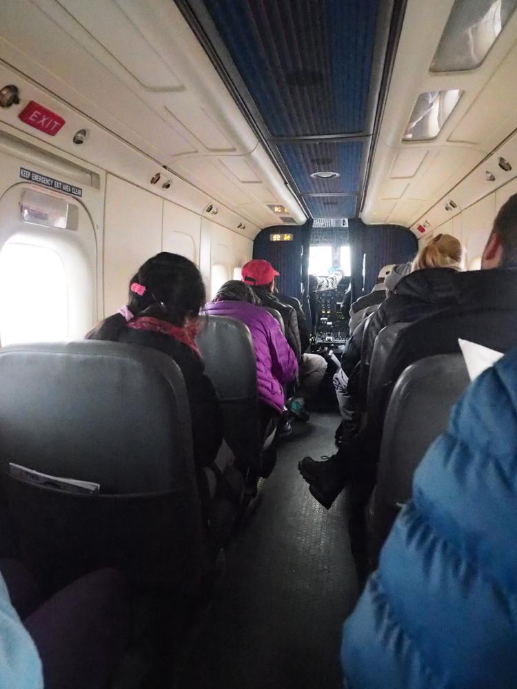 Flight to Lukla in Nepal