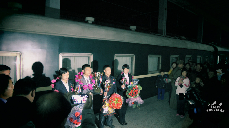 train to north korea