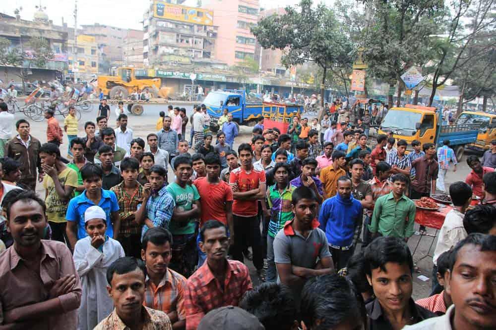 Dhaka locals