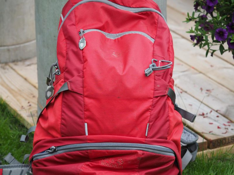 jackwolfskin,backpack,what to pack,