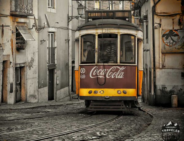 A local tram in #Lisbon ,the capital of #Portugal