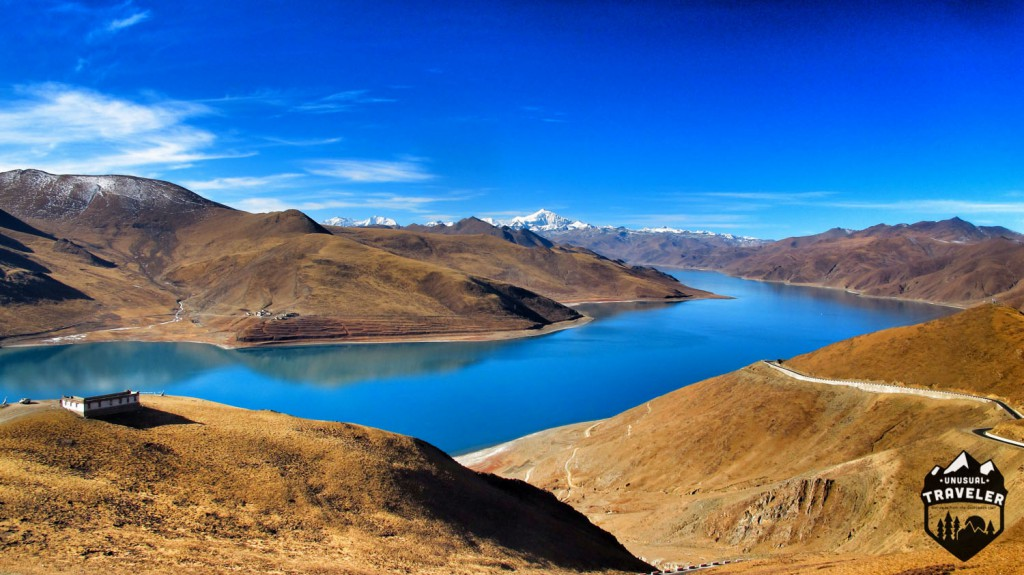 Yamdrok Lake in Tibet.#Tibet,#Lake,#landscape