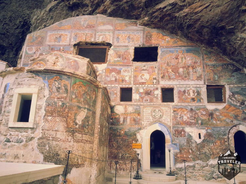 Sumela Monastery in east turkey travel guide