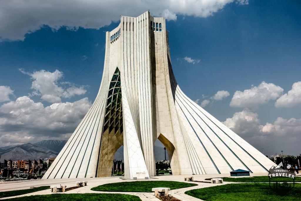Azadi tower in Teheran Iran. #Iran,#Teheran,#azadi