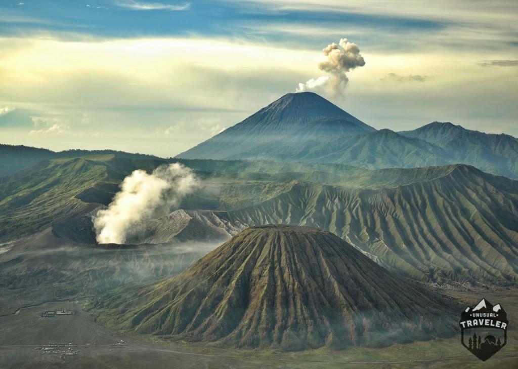 #Indonesia #Sumatra #volcano #Bromo #Mountain #Landscape
