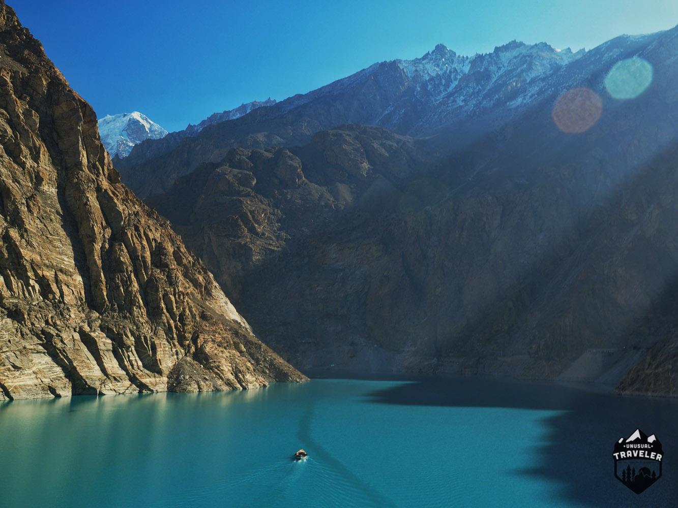Crossing Attabad Lake, a journey on the Karakoram Highway
