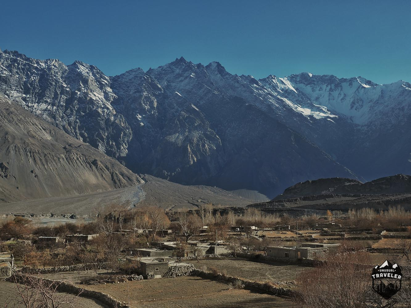 Mountain Scenery on the Karakoram Highway