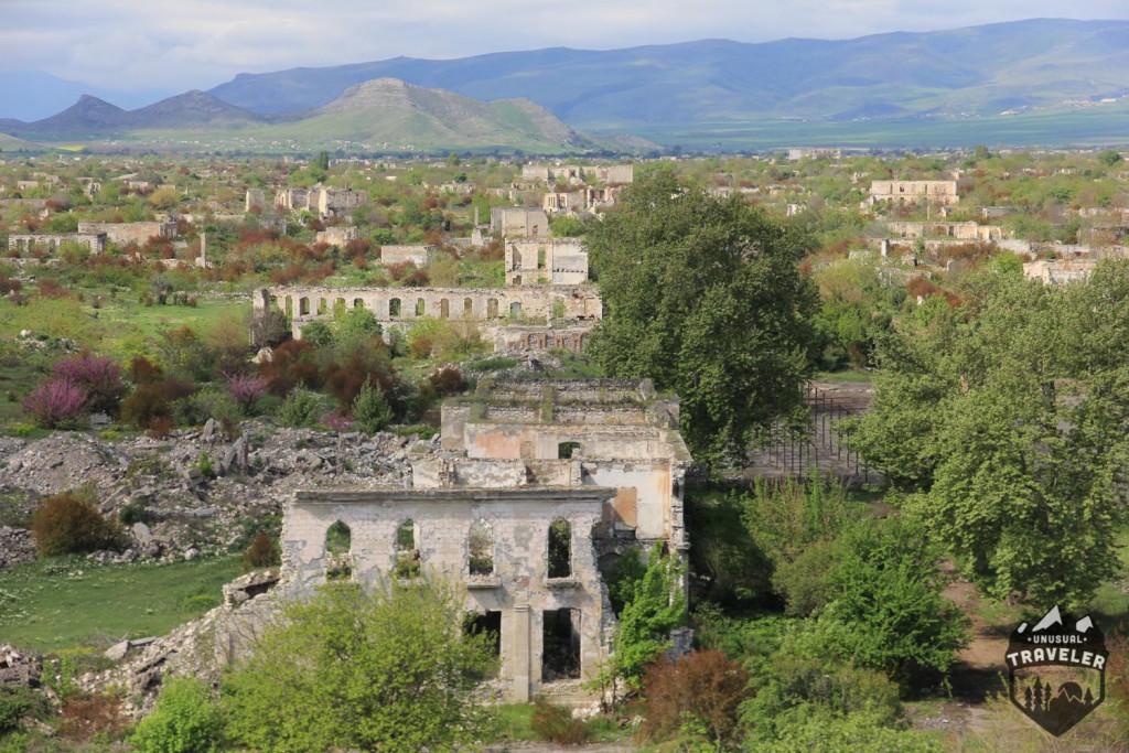 #Armenia #Agdam #war #ruins #Nagorno-Karabakh