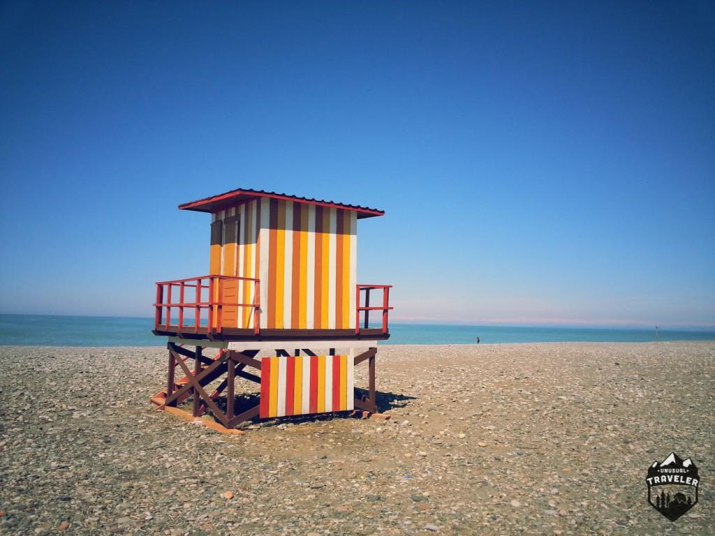 #Georgia #Batumi #beach #Caucasus