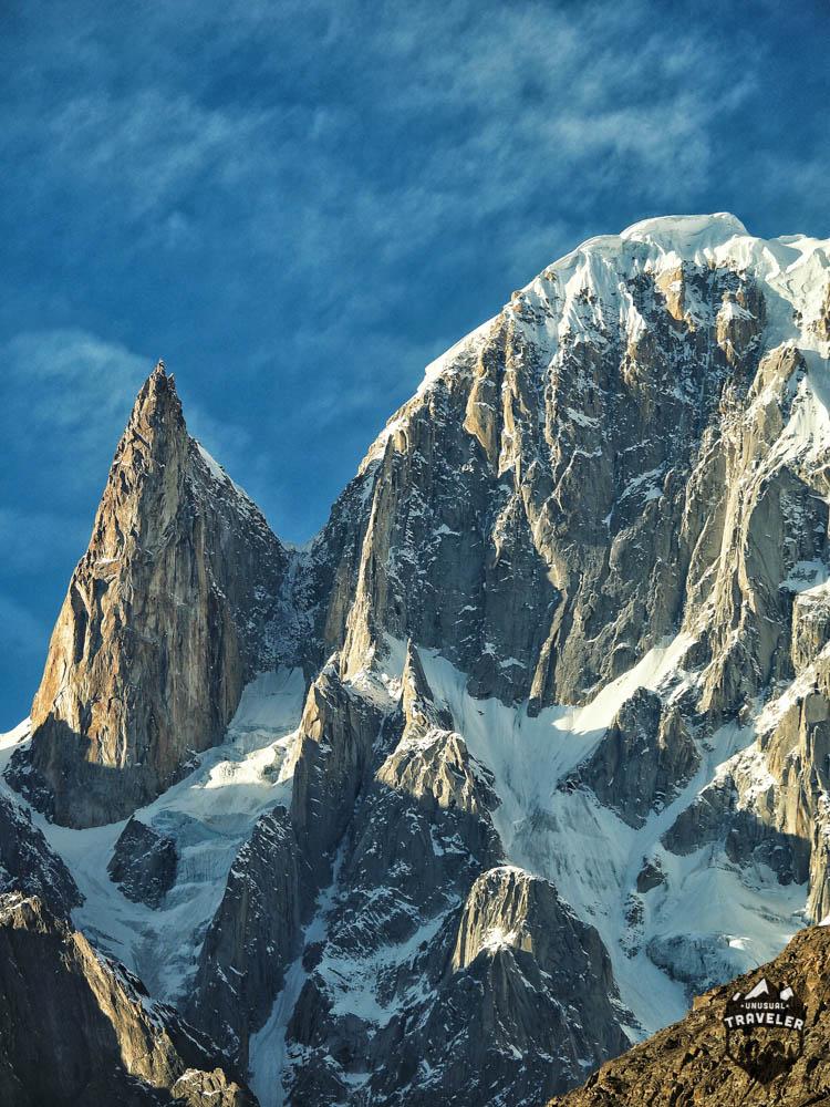 #Pakistan #Mountain #Hunza #LadyFinger in Karakoram Range