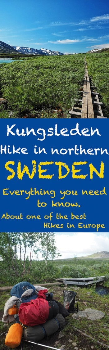 Kungsleden in northern sweden is one of the best hikes in all of Europe, here´s some helpfull information about the hike