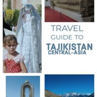 traveling through Tajikistan and Wakhan valley by bike