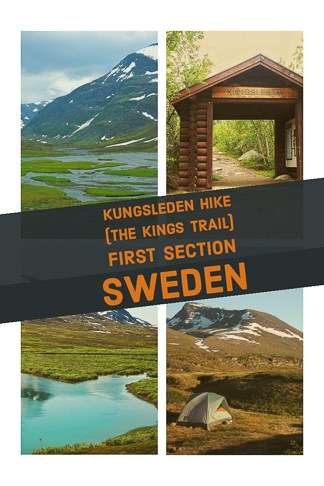 Hiking guide to Kungsleden hike the kings trail in northern sweden, one of the best hikes in Europe