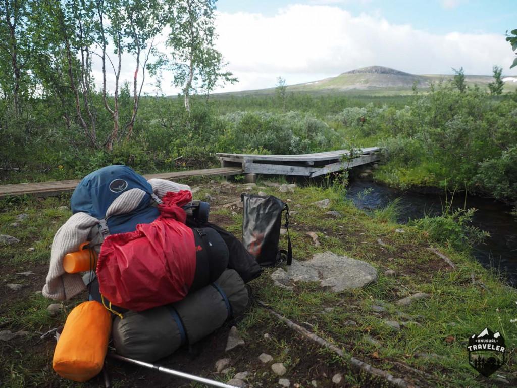 Kungsleden hiking sweden