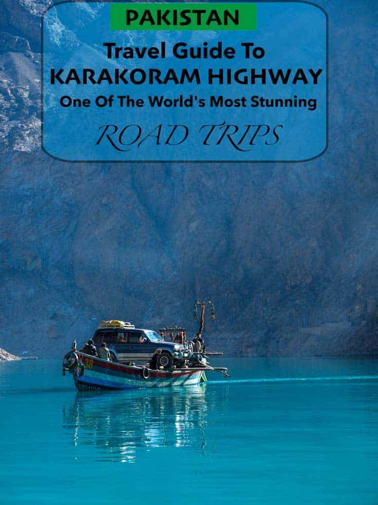 The Karakoram Highway often just called KKH, is a highway that runs about 1.300km (800 miles) from Abbottabad in Pakistan to Kashgar in the province of Xinjiang in west China.