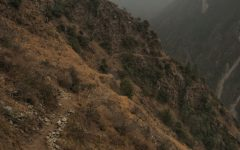 The path to Langtang Valley, just rubels lest after the earthquake