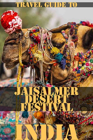 Travel Guide to Jaisalmer Desert Festival in Rajasthan India