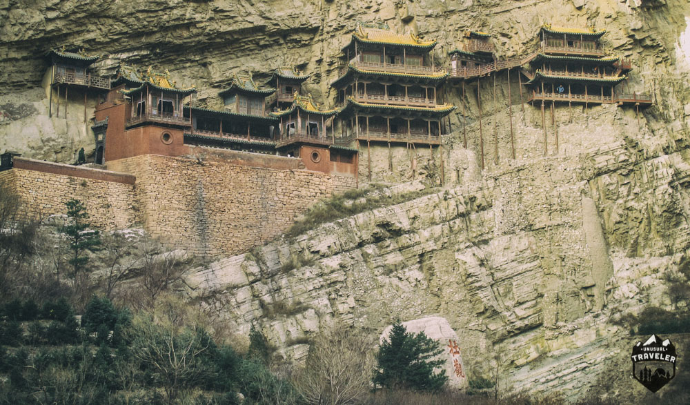 The Hanging Monastery,datong,china