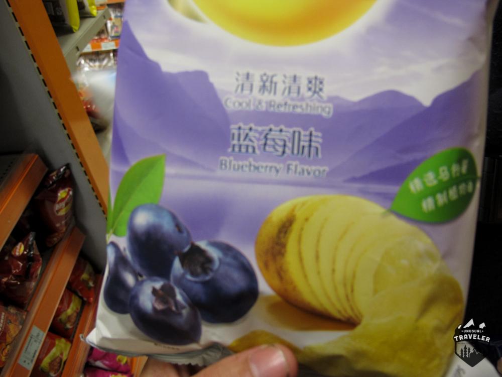 Blueberry Taste.