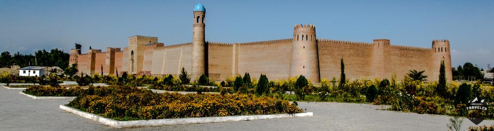 Kolub fort in tajikistan