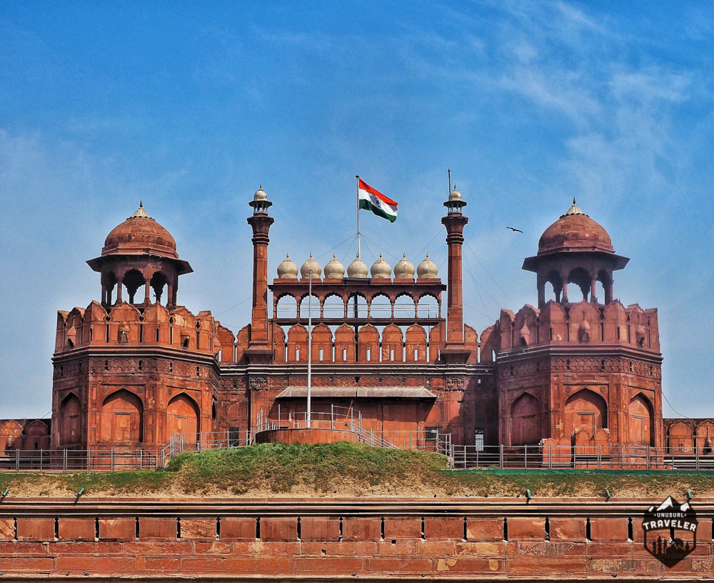 New Delhi,lahore gate,red fort