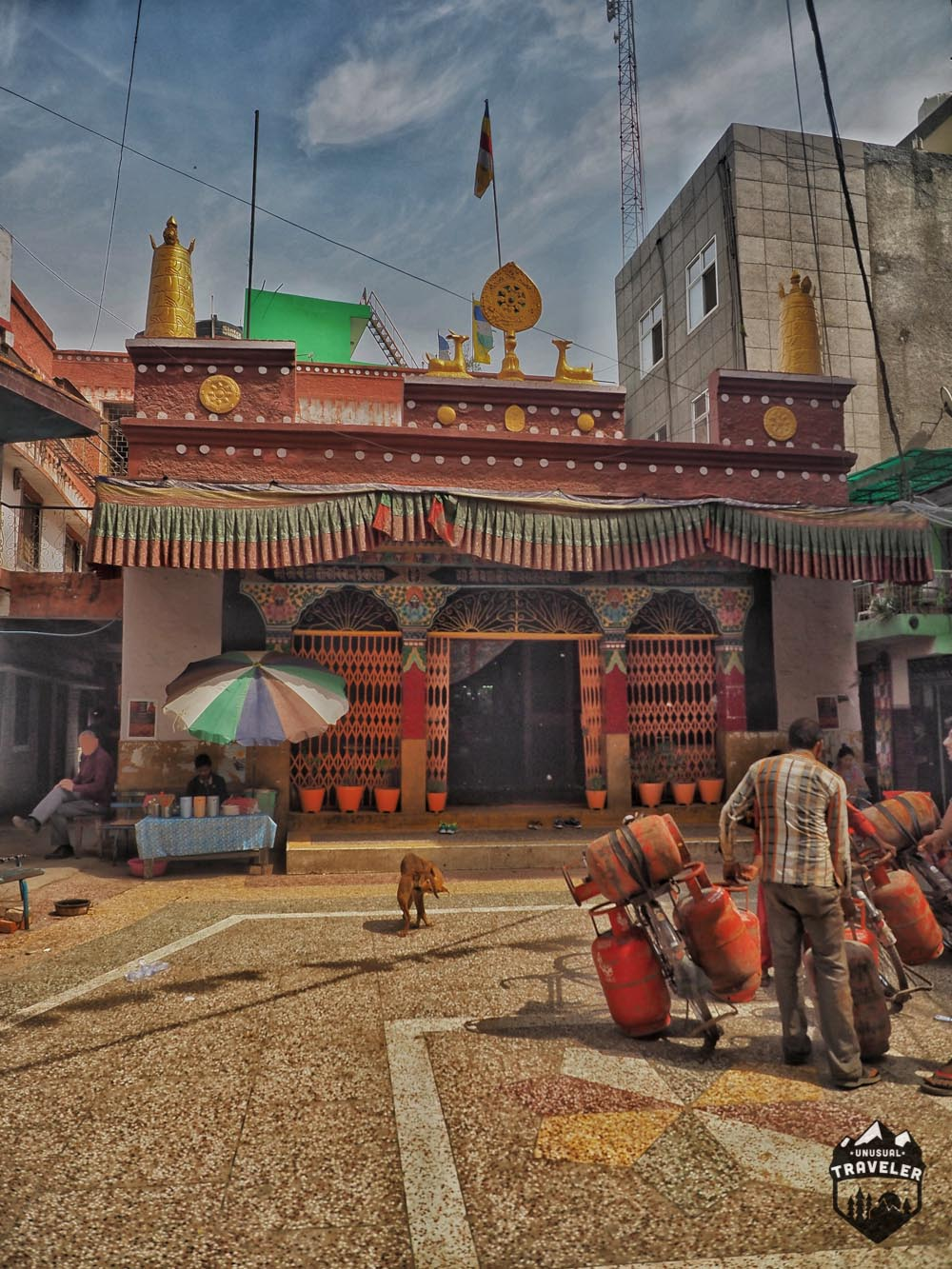 Tibetan Monastery manju ka tilla