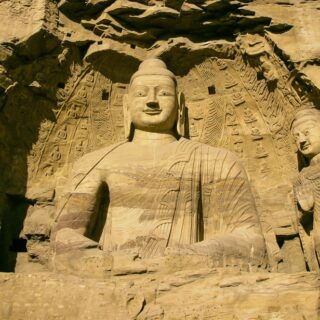 Datong and The Yungang Grottoes.