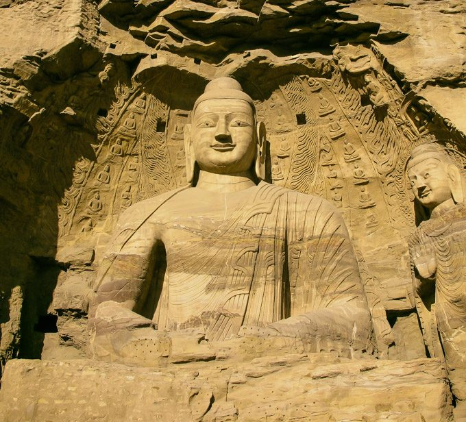 Yungang Grottoes,UNESCO,CHINA,Bhudda