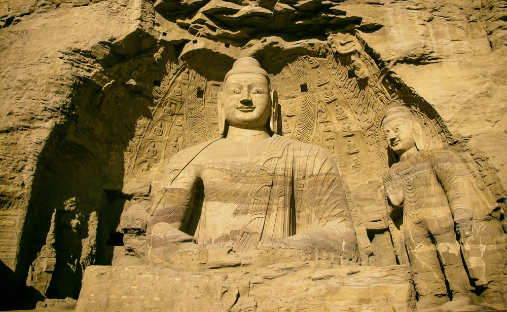 Yungang Grottoes,UNESCO,CHINA,Bhudda