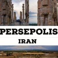 Persepolis, the great ruins in Iran. A UNESCO world heritage sites a must vist