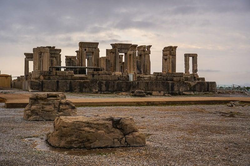 amazing Persepolis ruins in Iran