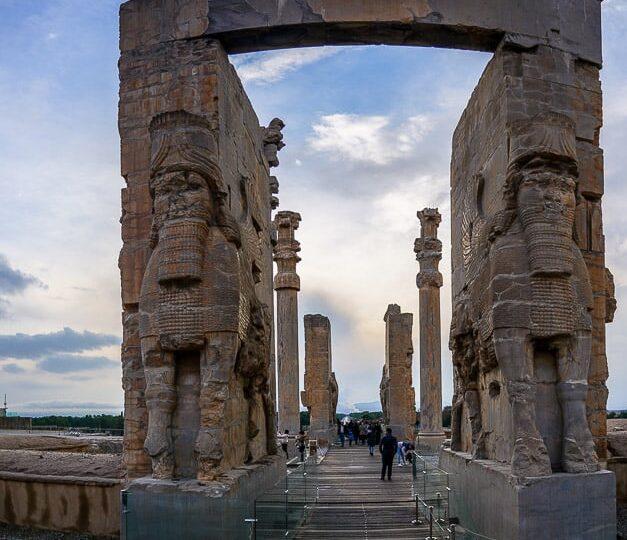 Persepolis gate iran