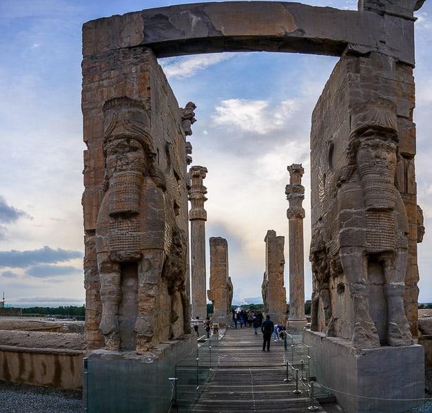 Gate of All Nations Persepolis iran persia