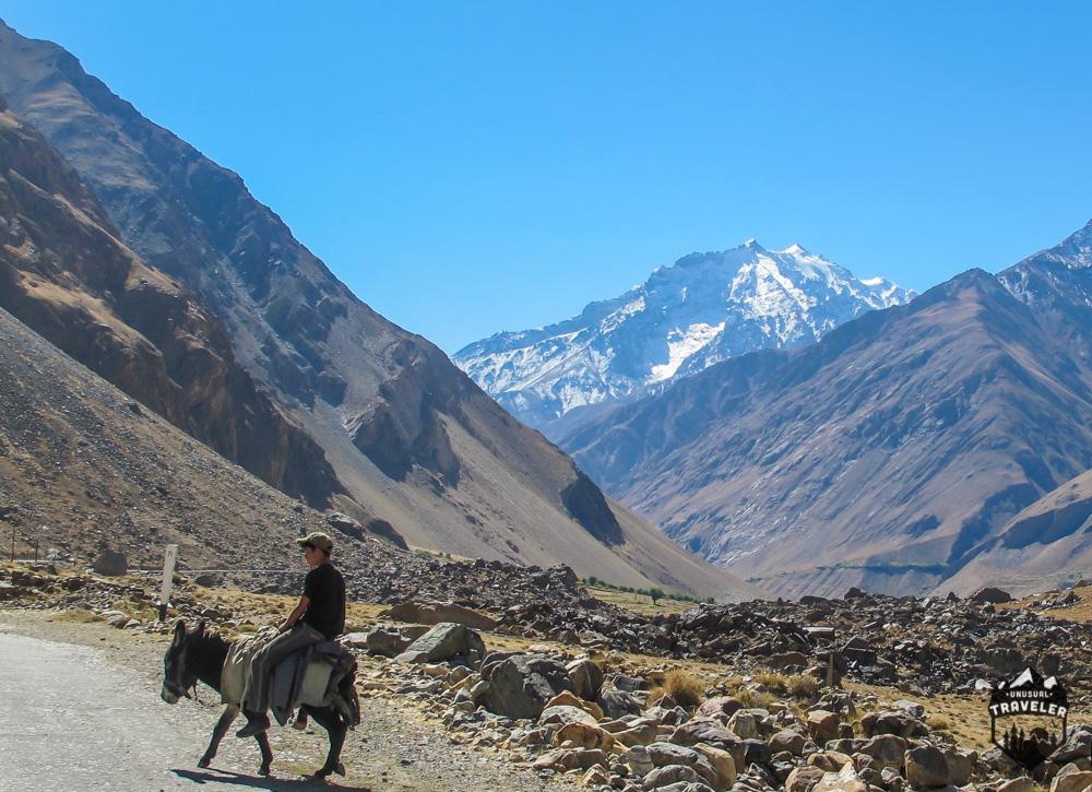 Riding Donkey is still common use of transportation.