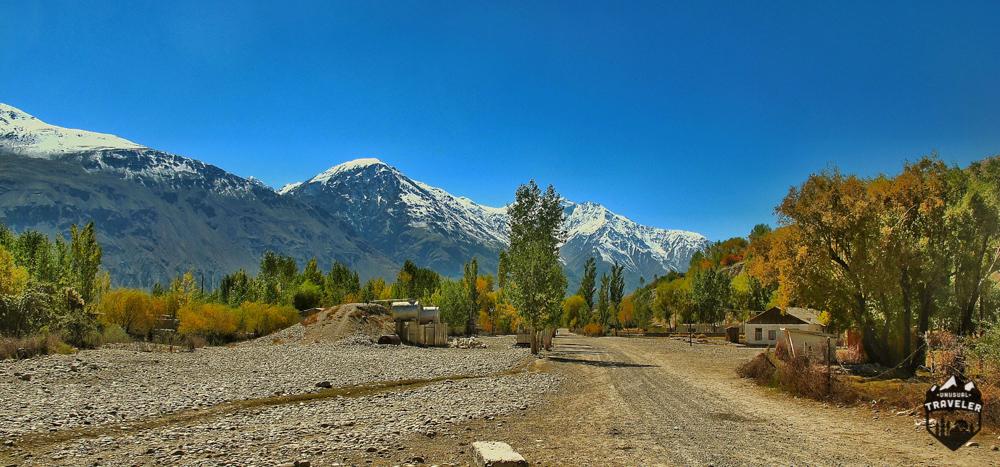 Beautiful scenery in Tajikistan