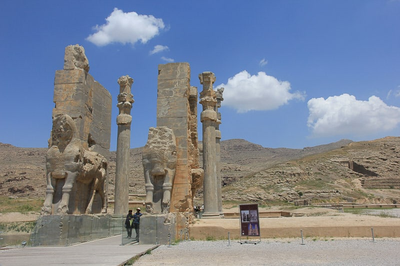 Gate of All Nations in Iran