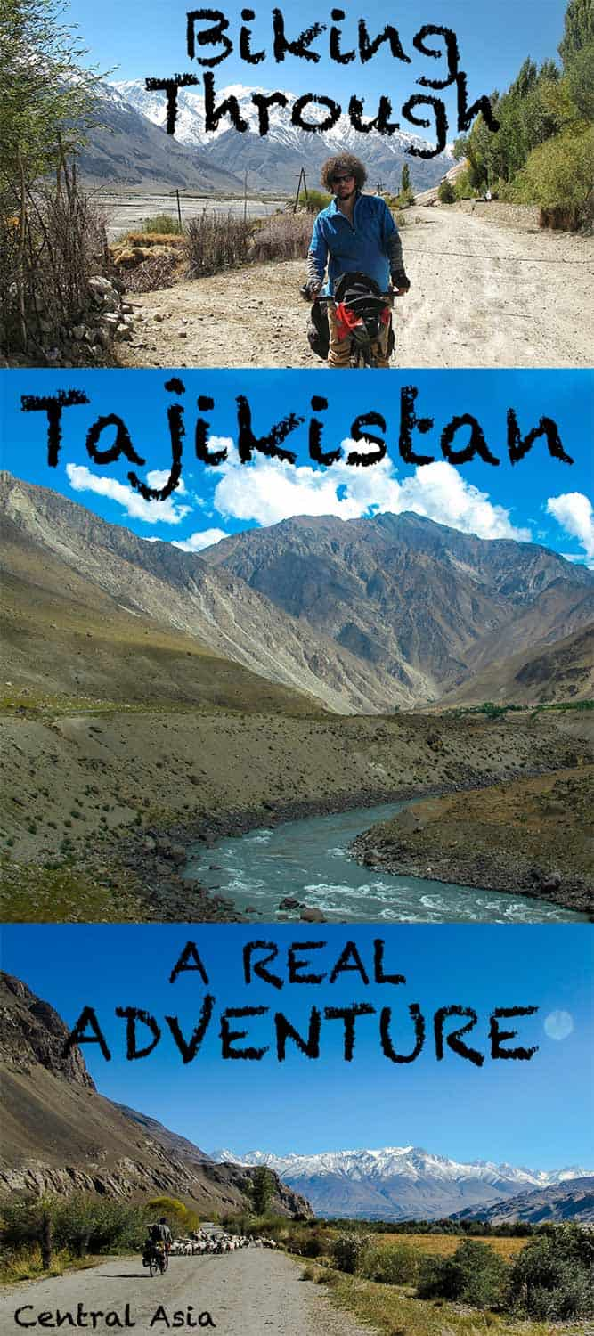 One of the best adventure is biking through Tajikistan in central asia