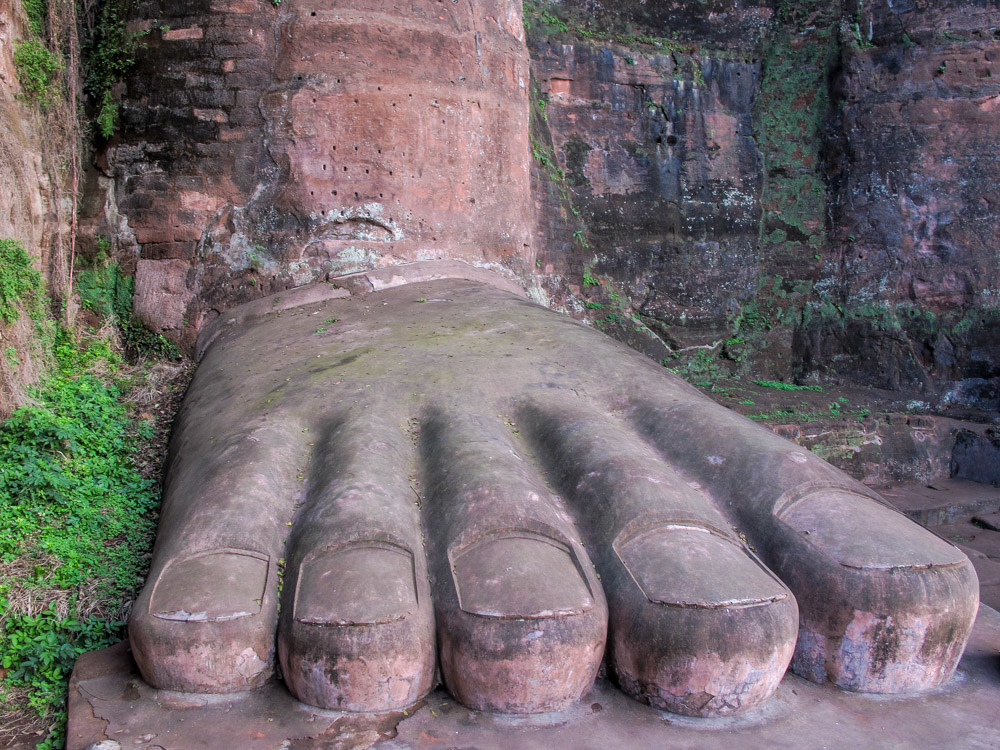 leshan buddha, leshan city. dudu river,china,Leshan Giant Buddha