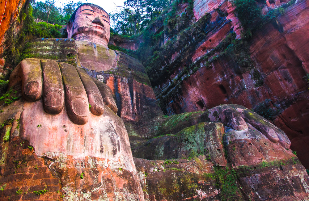 Leshan Giant Buddha an easy day trip from Chengdu China