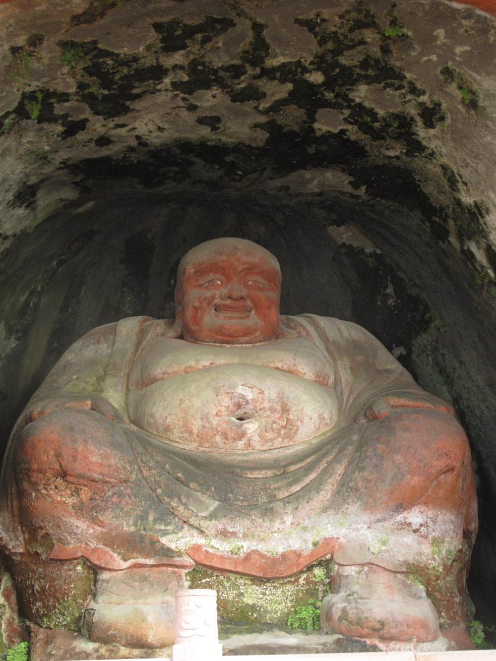 leshan buddha, leshan city. dudu river,china