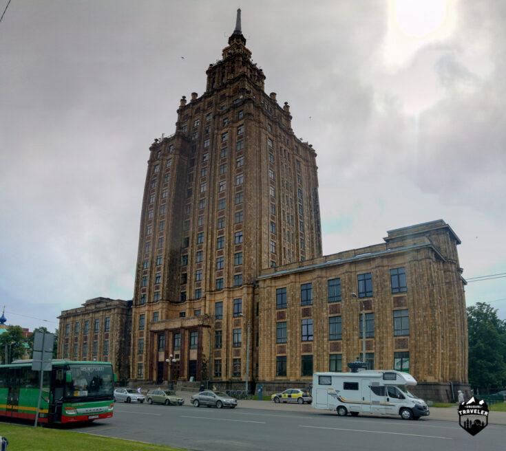 Moscow Building Riga Latvia