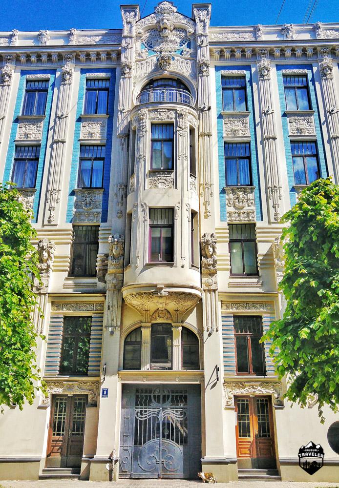 Art Nouveau Riga latvia