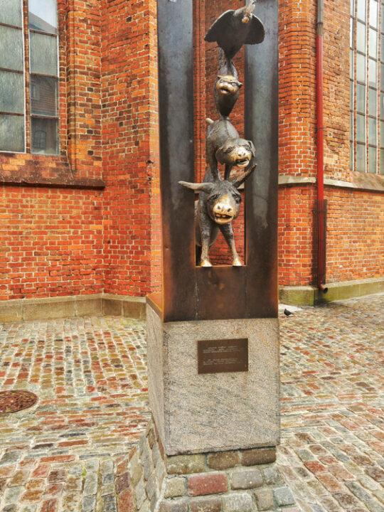 Bremen Town Musicians riga latvia