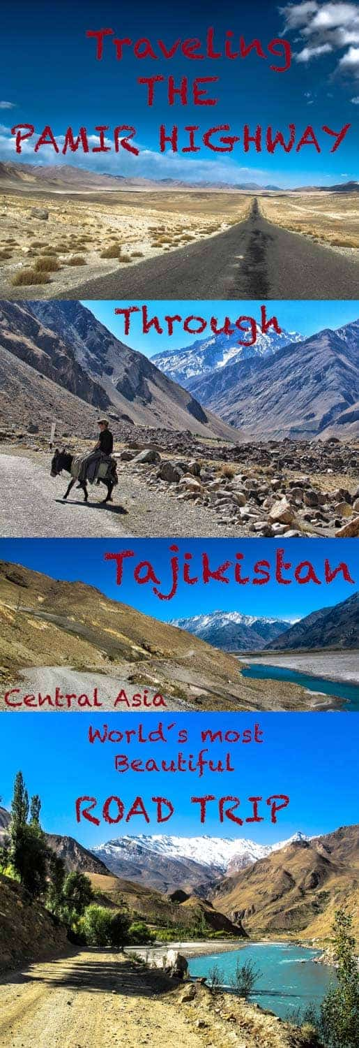 Travel guide to the amazing Pamir Highway through Tajikistan, central asia one of the most beautiful road trips in the world-