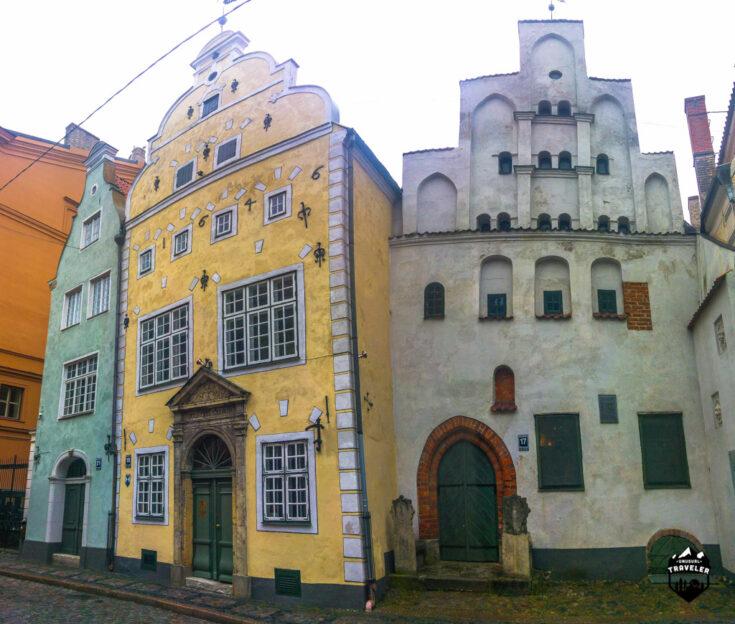 Three Brother houses riga latvia