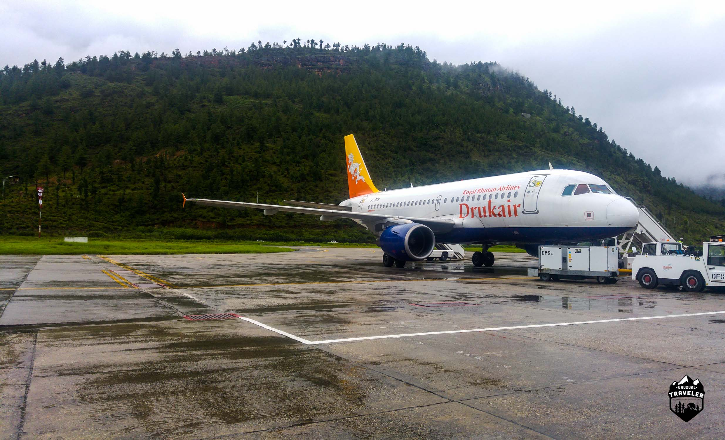 National Airline of Bhutan, Druk Air.