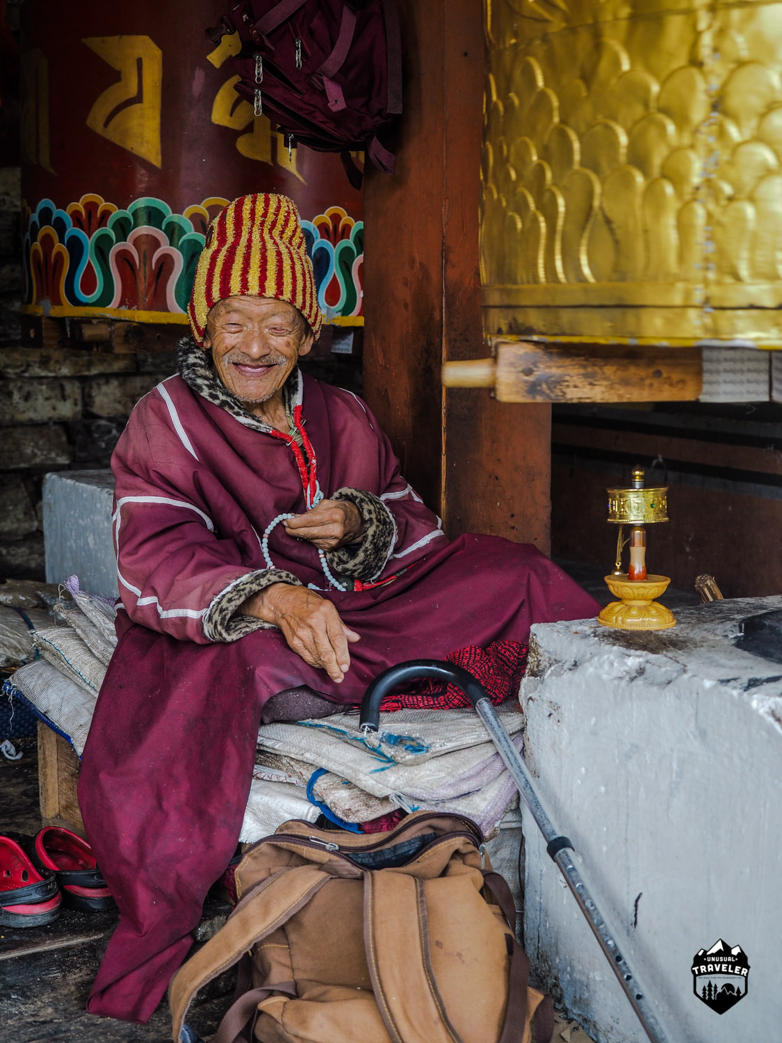 Bhutan measures wealth by gauging its citizens' happiness levels,