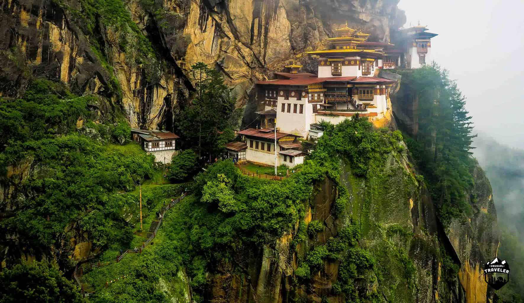 The Niger nest Monastery in Bhutan travel guide
