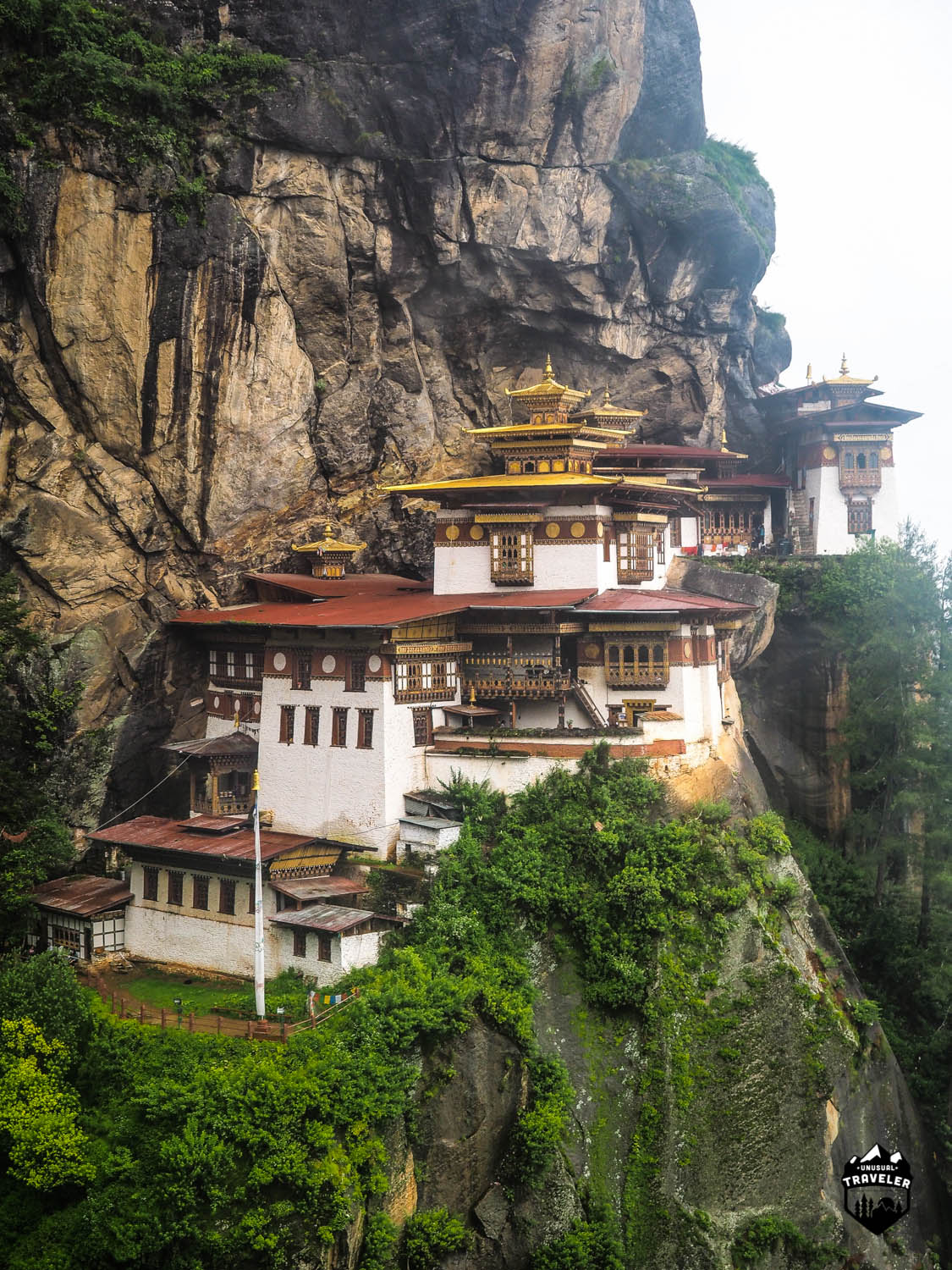Taktsang Palphug Monastery (also known as Tiger's Nest) is the most stunning monastery anywhere in the world.